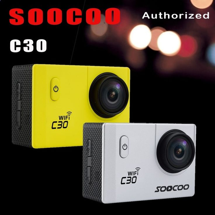 68.20$ Watch now - aliq8g.worldwells... - SOOCOO C30 Wifi 4K Gyroscope image stabilization 2.0 LCD NTK96660 Diving 30M Waterproof Action Sport Camera