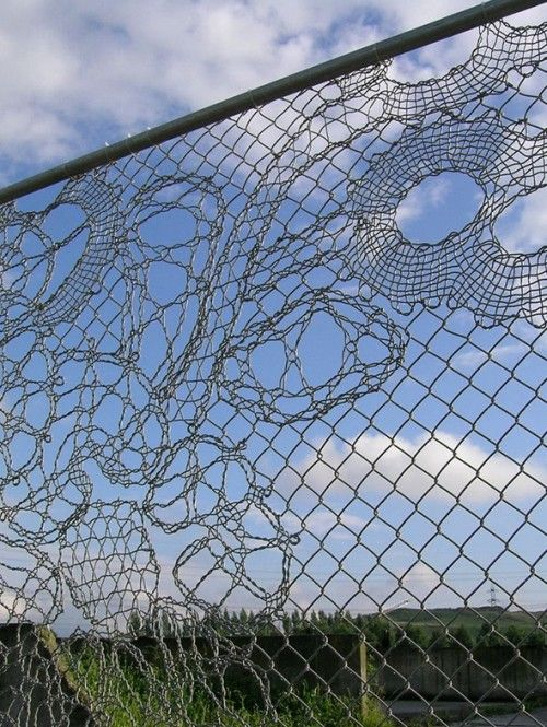 Lace fences by design house studio Demakersvan