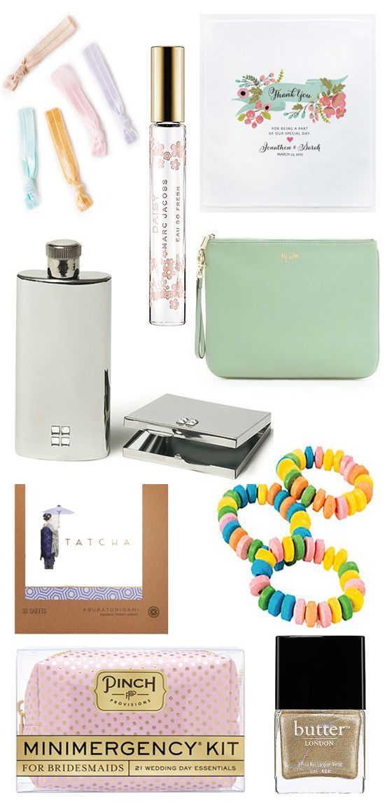 The ultimate bridesmaids day-of survival kit!