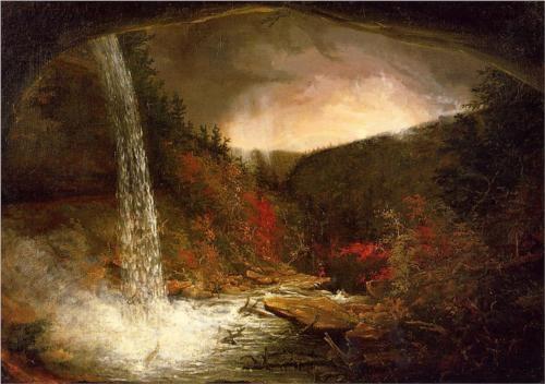 Kaaterskill Falls - Thomas Cole