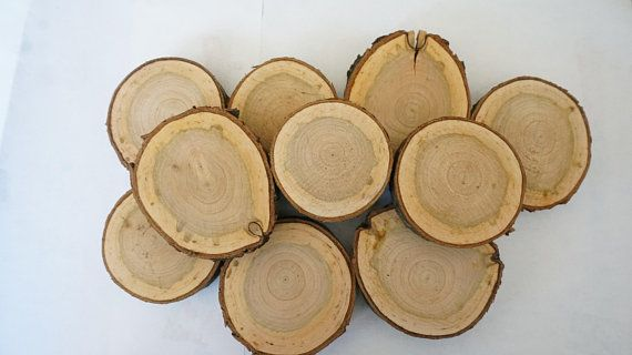 Wood Slices Blank Cherry Wood Slices Tree Slices Bulk Log Slices Wood Slice Art Wooden Wedding Favors Wood Slices Wood Slice Art Cherry Wood Wood Slices