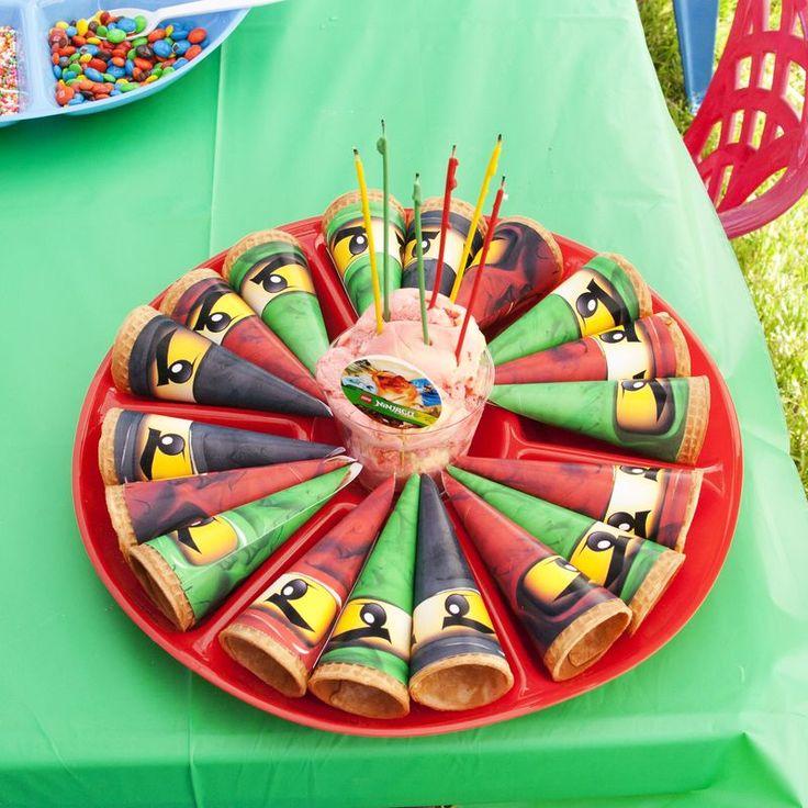 A Lego Ninjago Birthday Party: 18 Best Lego Ninjago Birthday Party Ideas Images On