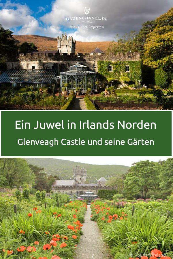 Mitten Im Zweitgrossten Nationalpark Irlands Befindet Sich Die Bezaubernde Schlossanlage Glenveagh Castle Mit Ih Irland Sehenswurdigkeiten Irland Irland Reise
