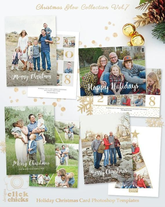 Save 45 Bundle Christmas Card Templates For Photographers Etsy Christmas Card Collage Christmas Card Template Photoshop Christmas Card Template