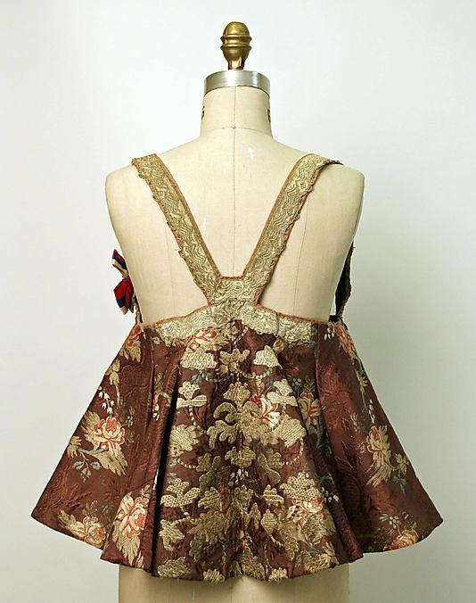 20-11-11 Bodice Date: 19th century Culture: Russian Medium: silk