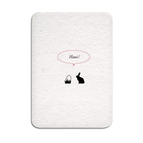 Oster-Postkarte ›Hasi!‹ – div. Motive - S.W.W.S.W.