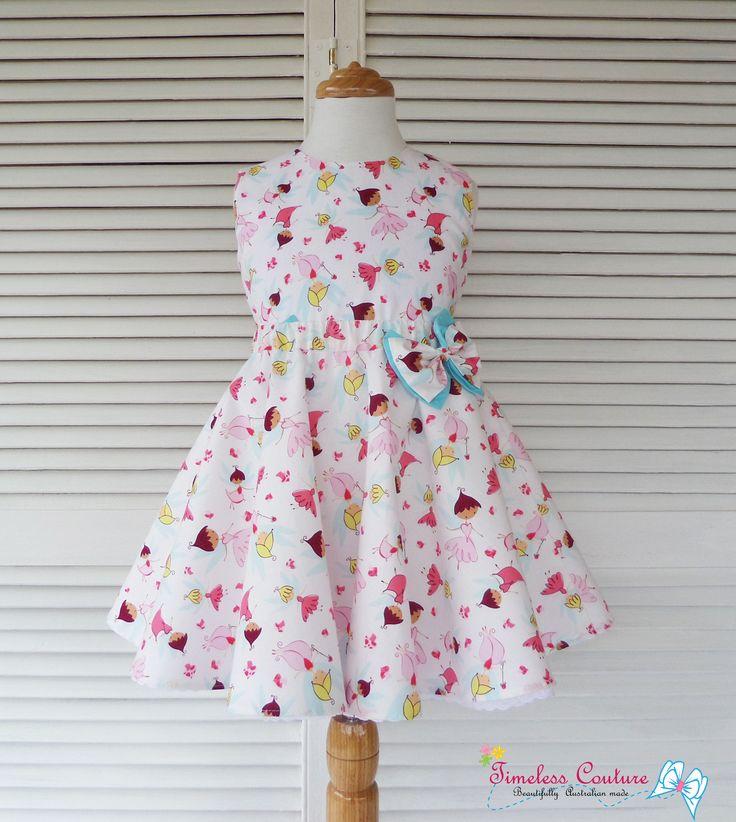 Summer top, and a matching skirt, lovely fairies  print. more details at:  https://www.facebook.com/a.b.timelesscouture?pnref=lhc