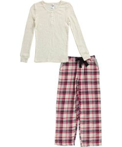 "Maidenform Big Girls' ""Sleep Dots"" 2-Piece Pajamas (Sizes 7 – 16) - CookiesKids.com"