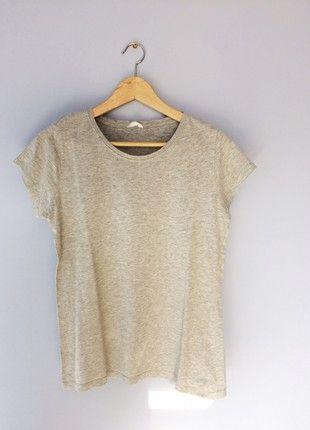 Kup mój przedmiot na #vintedpl http://www.vinted.pl/damska-odziez/t-shirty/21370619-szara-koszulka-basic-idealna-s