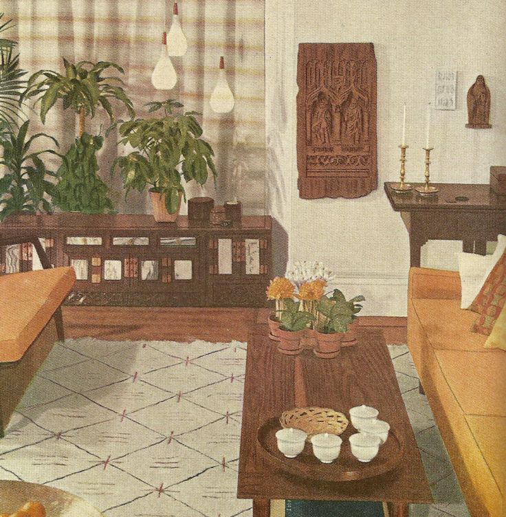 1000+ Images About The 1960 DECOR On Pinterest