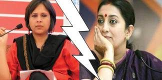 """With social media becoming an extremely important part of existence, another Twitter war and blame game ensued yesterday between Human Resource Development Mininster Smriti Irani, and senior journalist Barkha Dutt.     On February 20th, Barkha Dutt published, """"A Letter To PM Modi From 'Anti-National Sickular Presstitute',"""" This letter was in continuation to that every piece that Dutt took to Twitter tagging Smriti Irani in her post."""