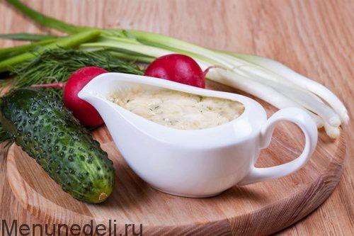 Соус тартар — рецепт с пошаговыми фото