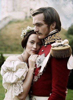 Emily Blunt and Rupert Friend as Victoria and Albert in the 2009 film The Young Victoria