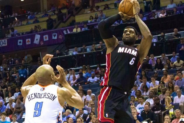 Heat vs. Bobcats: Game 4 Score and Twitter Reaction from 2014 NBA Playoffs -- #ProBasketballMiamiHeat
