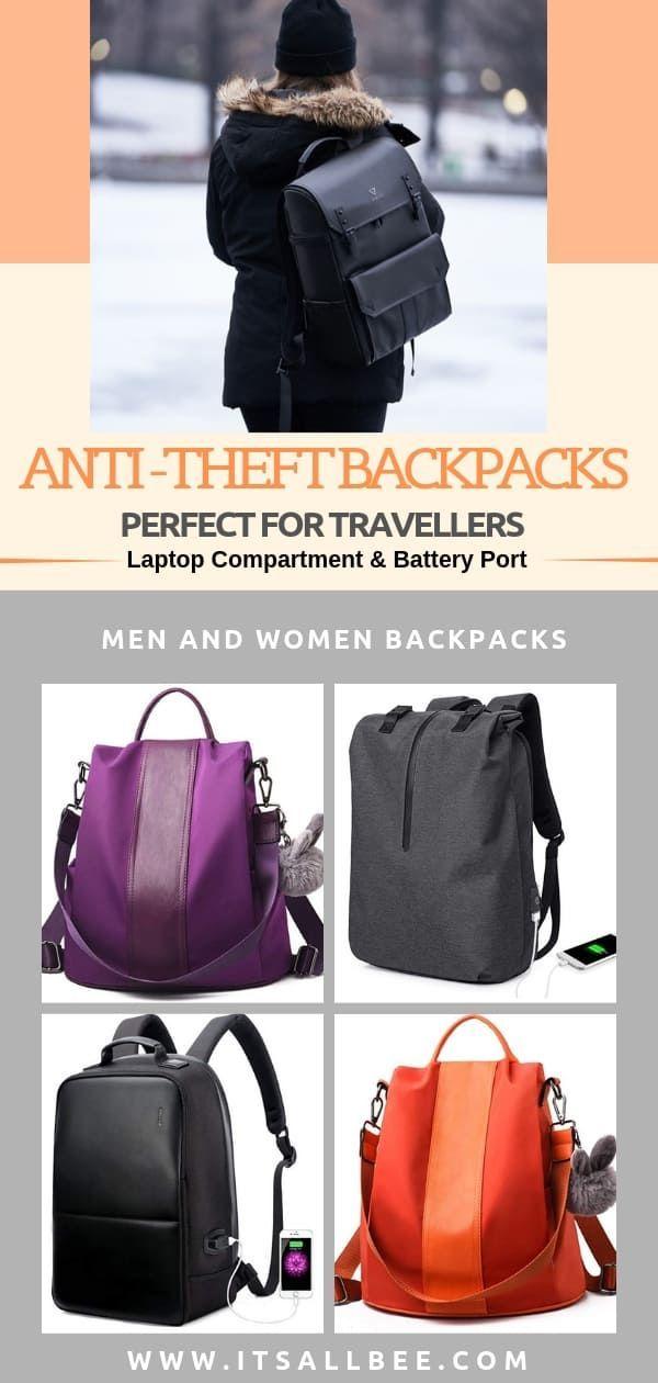 accessoires voyage Les meilleurs sacs à dos de voyage contre le vol pour les voyageurs (hommes et femmes)