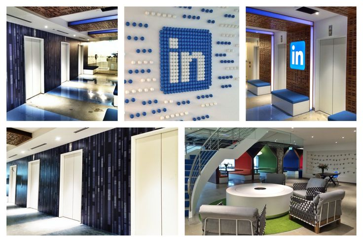 Collage of the Birch Wall and LinkedIn's logo.