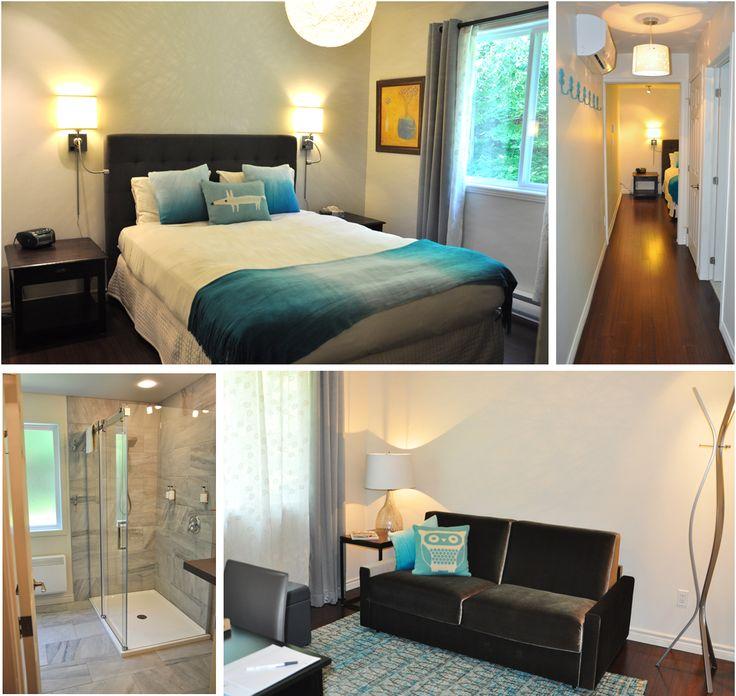 11 pavillon volets bleus salon commun avec foyer for Fenetre chambre sans volet