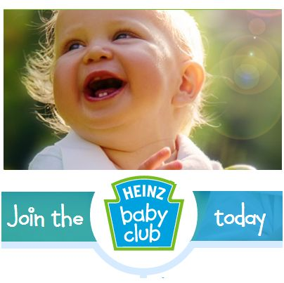 FREE Heinz Baby Club Products, Nutritional Information, Coupons And More - Gratisfaction UK Freebies #freebies #freebiesuk #freestuff