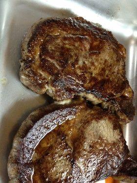 アメリカ 美味!リブアイステーキの焼き方