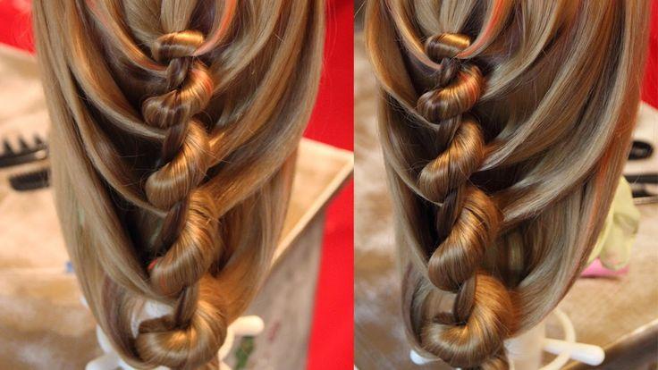 Спиральная коса, sooo cool, love it
