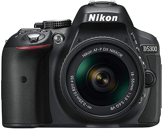Nikon D5300 Af P 18 55mm F 3 5 5 6g Vr Lens 24 Mp Slr Camera Black Camera Dslr Camera Beginner Dslr Camera