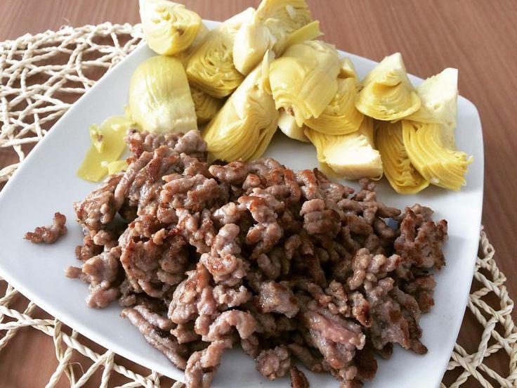 #alcachofa #carne picada de #ternera #beef #diet #dieta #fit #fitness #paleo #paleodiet #paleorecetas #paleorecipes #yum #yummy #food #foodporn #healty #meal #eat #foodie by vero.cl88