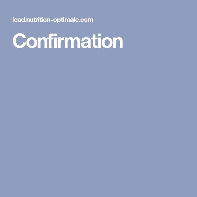 Confirmation
