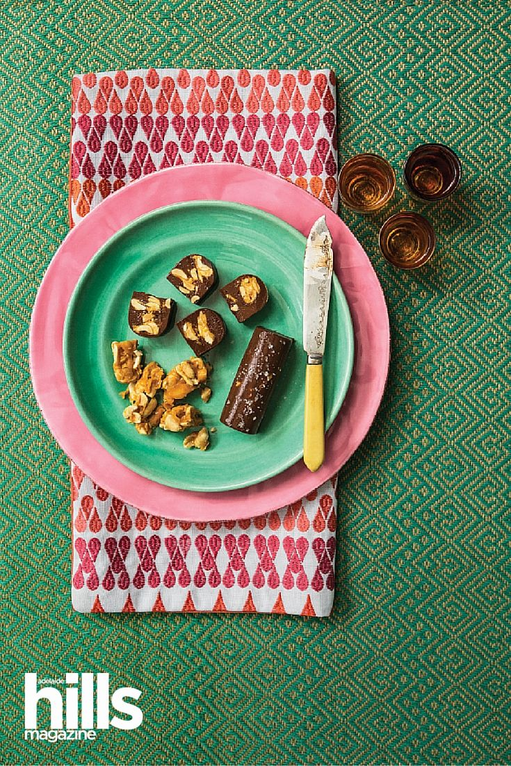 Sensational Milk Chocolate And Salted Peanut Brittle Recipe. Recipe from chef Zac Ronayne from The Bridgewater Mill, Adelaide Hills, South Australia.