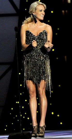 CMA Awards 2011: Carrie Underwood's Fab Fashion!