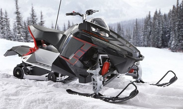 Polaris Rush Remote controlled Snowmobile Time to Ride