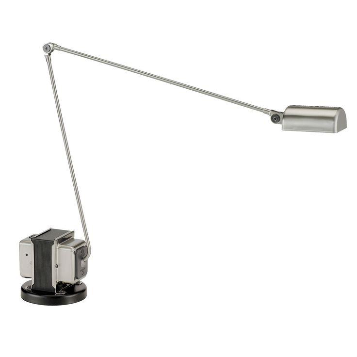DAPHINE - Lámpara de escritorio Níquel cepillado Lumina