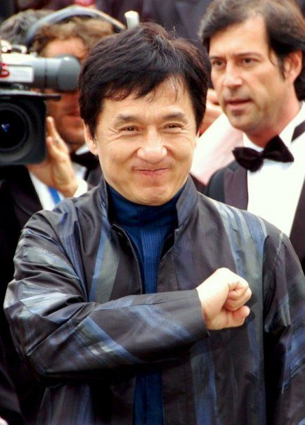 He has the heart, guts and spirit. Jackie Chan is not only an Action Hero but a Martial Arts Master.