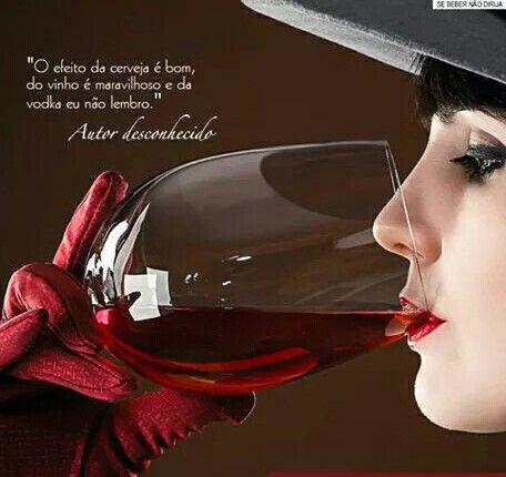 #Vinho ♡ &  #Efeito ☆