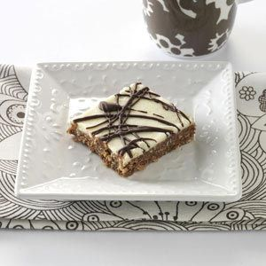 Drizzled Nanaimo Bars Recipe from Taste of Home -- shared by Alice Maysick of Berrien Center, Michigan
