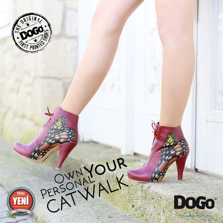 Own Your Personal Catwalk #booties 3design #style #details ...