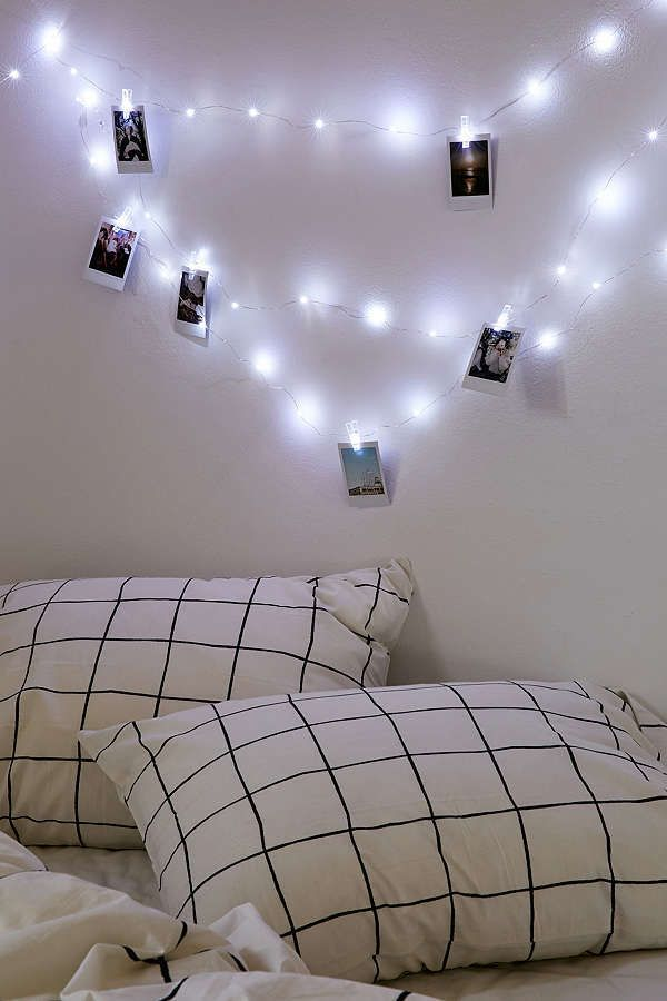 25+ best ideas about String lights dorm on Pinterest College dorm lights, Dorm room tumblr and ...