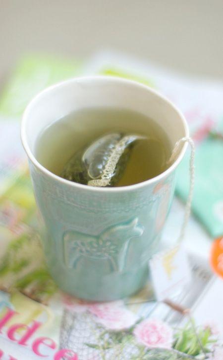 That's a dala horse tea mug...I must have this!