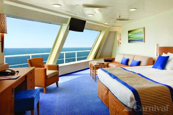 Carnival Valor Scenic Ocean View 2014 Southern