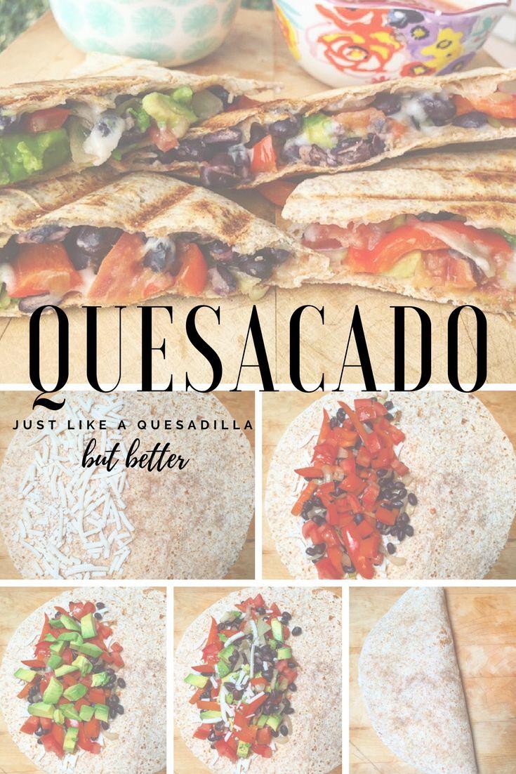 Quesacado - so much goodness! #vegan #delicious #followyourheart #stepbystep #quesadilla