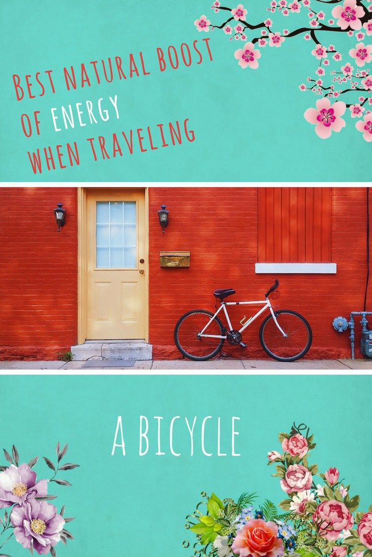 Best natural boost of energy when traveling - a bicycle. #ecotourism #sustainabletravel