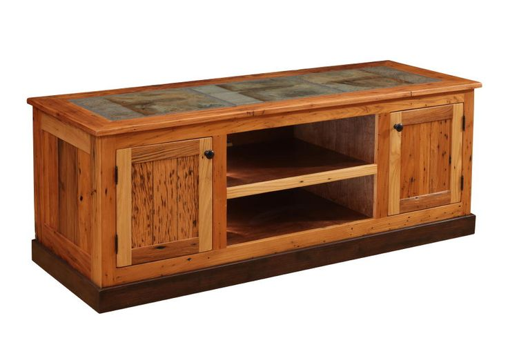 Tv Stand Designs Wooden : Reclaimed wood tv stand plans woodworking projects