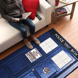 AWESOME! :: Doctor Who TARDIS Rugs