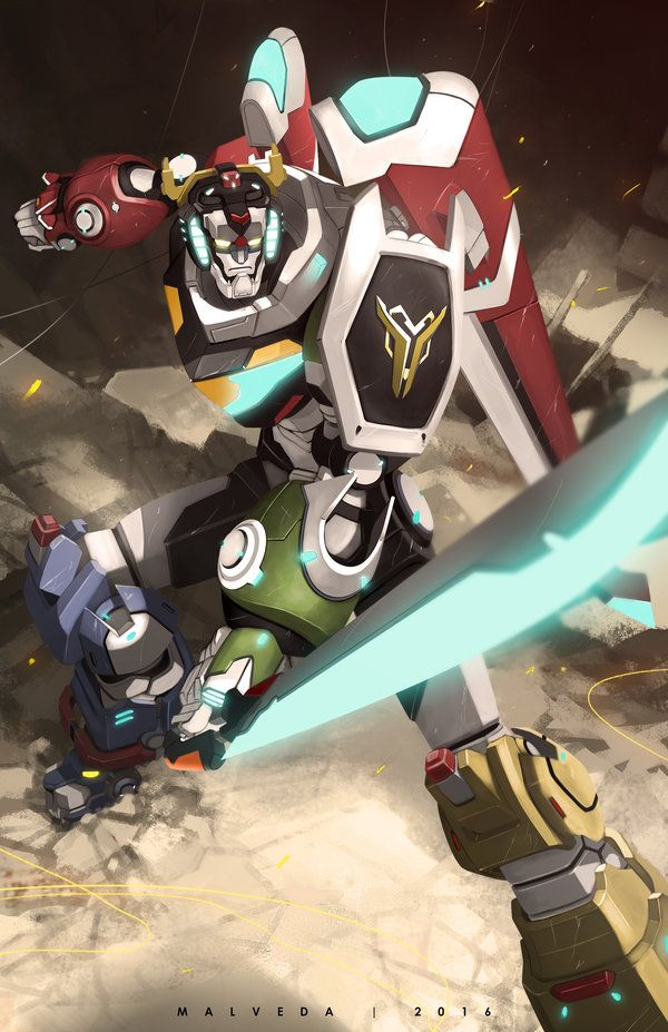 Voltron the Defender of the Universe from Voltron Legendary Defender