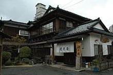 A traditional ryokan in Wakura Onsen, Ishikawa