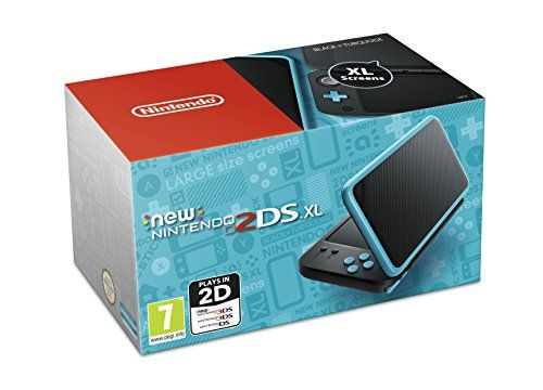 From 129.99:Nintendo Handheld Console - New Nintendo 2ds Xl - Black And Turquoise (nintendo 3ds)