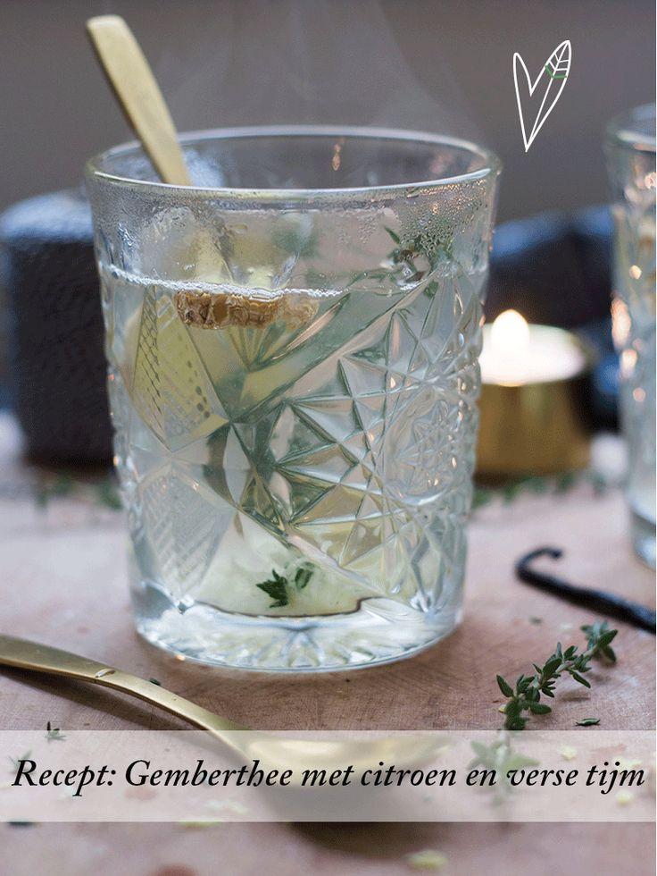 Thee uit een zakje kan heel lekker zijn, maar thee met verse ingrediënten vinden wij nog veel lekkerder. Deze combi is verwarmend, kruidig en toch fris!