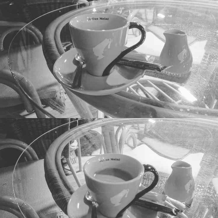 DYI Americano: Mix espresso and hot water...