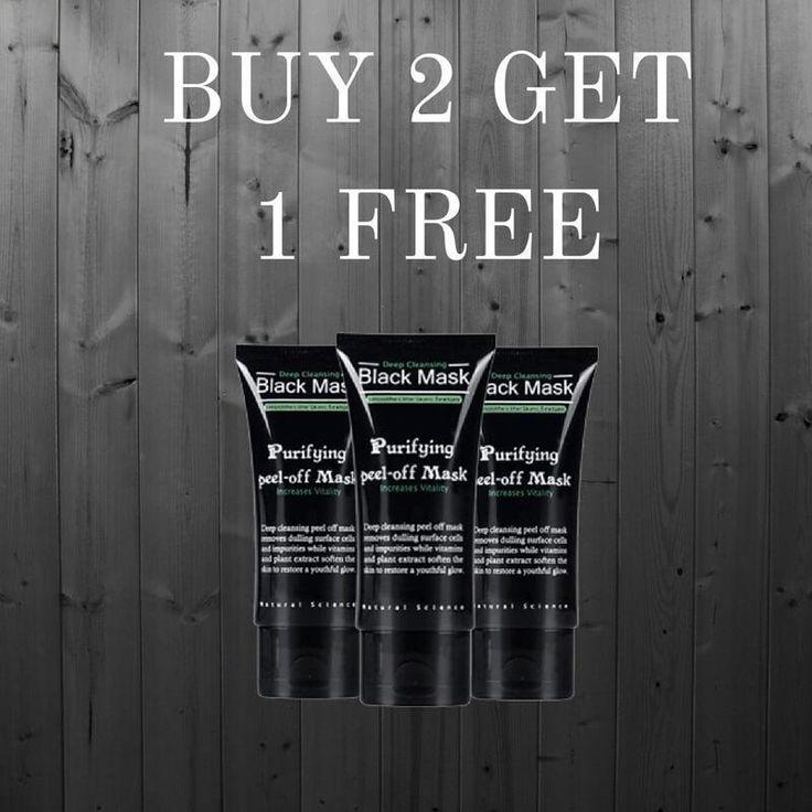 Buy 2 Get One FREE Deep Cleansing Black Mask – magilook