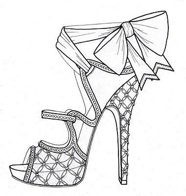 37 best Shoe sketches images on Pinterest  Fashion illustrations