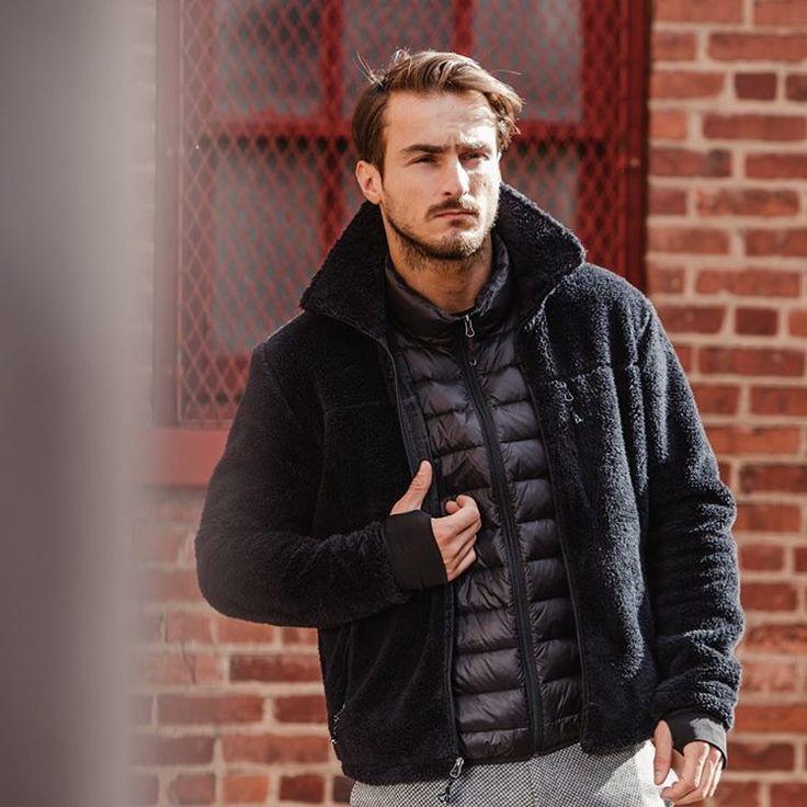 Tarik Kaljanac.    #male #model #handsome #bosnian #boy #man #winter #outfit #men #menswear #fashion